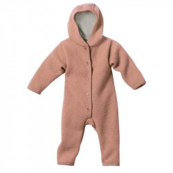 Overall Disana din lana organica boiled wool - Rose