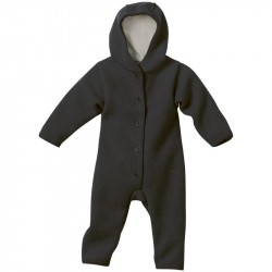 Overall Disana din lana organica boiled wool - Anthracite