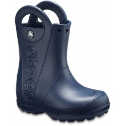 Cizme Crocs - Kids' Handle It Rain Boot - Navy Croslite