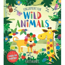 Fingerprint Fun: Wild Animals