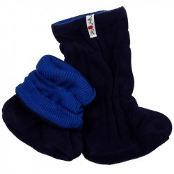 Botosei ManyMonths Winter Booties pt babywearing - Jewel Blue/Moonlight Blue