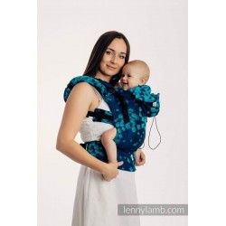 SSC Lenny Lamb Full Wrap Conversion (toddler size) - FINESSE - TURQUOISE CHARM - Second Generation