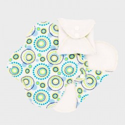 Absorbante intime din bumbac organic Panty liners Orbit - ImseVimse (3 buc)