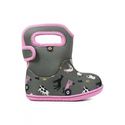 Baby Bogs Farm - Gray Multi