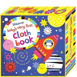 Baby's Very First Cloth Book Blue - Usborne