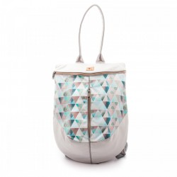 Rucsac Pastel Triangles Beetle - Delikates Accessories