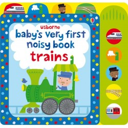 Baby's very first noisy book - Trains - Usborne