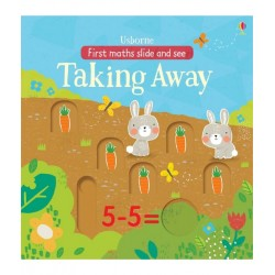 Slide and see Taking away - Usborne