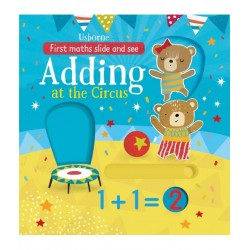 Slide and see adding at the circus - Usborne