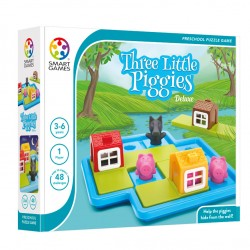 Three Little Piggies - Deluxe (Cei trei purcelusi, editie de lux) - Smart Games
