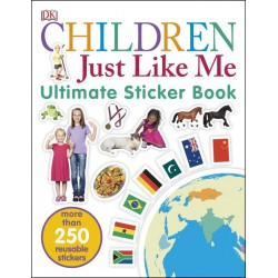 Children Just Like Me Ultimate Sticker Book - by DK