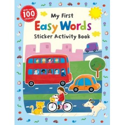 First Skills: My First Easy Words Sticker Activity Book - Scholastic