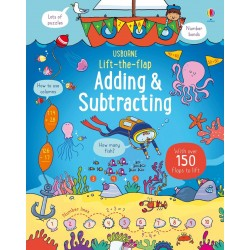 Lift-the-flap adding and subtracting - Usborne