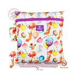 Saculet pentru depozitarea scutecelor textile (Wet Bag) Milovia Following Dreams