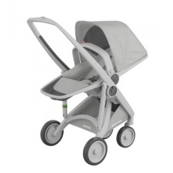 Carucior Greentom - Reversible 100% Ecologic - Grey Grey