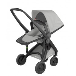 Carucior Greentom - Reversible 100% Ecologic - Black Grey