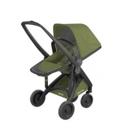 Carucior Greentom - Reversible 100% Ecologic - Black Olive
