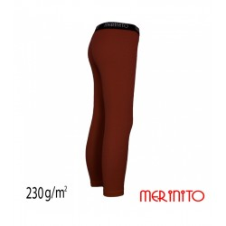 Colant copii 230g lana merinos - Burnt Orange - Merinito