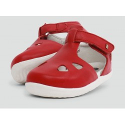 Sandale din piele Zap Red Rio Step Up - Bobux