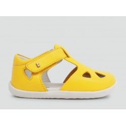 Sandale din piele Zap Yellow Step Up - Bobux