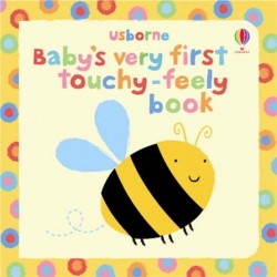 Baby's very first touchy-feely book - Usborne