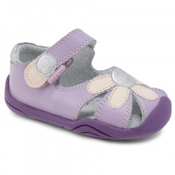 Sandale Pediped Grip 'N' Go Daisy Mauve