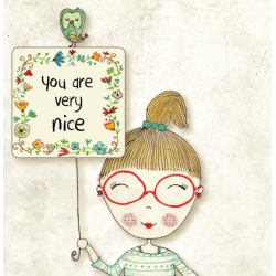 Felicitare Pojumka - YOU ARE NICE