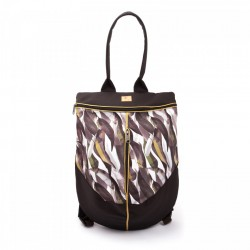 Rucsac Grey Leaves - Delikates Accessories