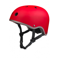 Micro Helmet Red Matt S