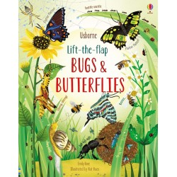 Lift-the-flap bugs and butterflies - Usborne
