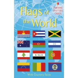 Flags of the world cards - Usborne