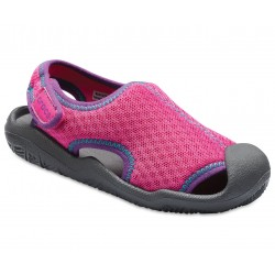Sandale Crocs - Swiftwater - Neon Magenta/Slate Grey