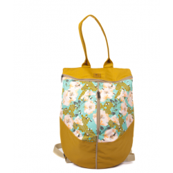 Rucsac Bees and Roses on an Ocher Base - Delikates Accessories