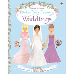 Sticker dolly dressing - Weddings - Usborne