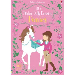 Little sticker dolly dressing - Ponies - Usborne