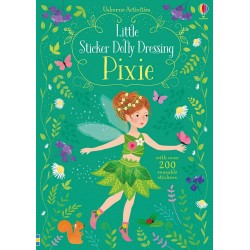 Little sticker dolly dressing - Pixie - Usborne
