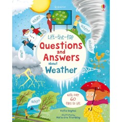 Lift-the-flap questions and answers about weather - Usborne