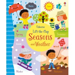Lift-the-flap seasons and weather - Usborne