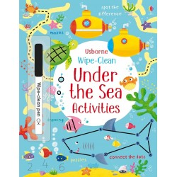 Wipe-clean under the sea activities - Usborne