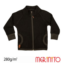 Jacheta Merino Soft Fleece Merinito - Moonless Black