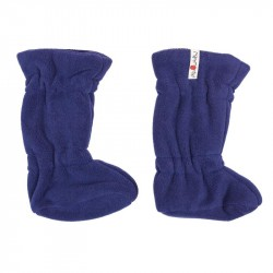 Botosei ManyMonths Winter Booties pt babywearing - Night Sky/Dark Bluering - Cranberry Nectar/Dark Red