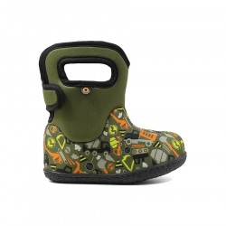 Baby Bogs Construction Green Multi