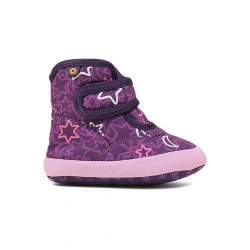 Bogs Elliot II Night Sky Purple Multi