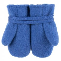 Manusi Pure Pure fleece lana organica - Nautic Blue