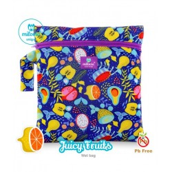 Saculet pentru depozitarea scutecelor textile (Wet Bag) Milovia Juicy Fruits Unique