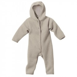 Overall Disana din lana organica boiled wool - Grey