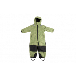 Snowsuit (costum de iarna) funky green (toddler) - Ducksday