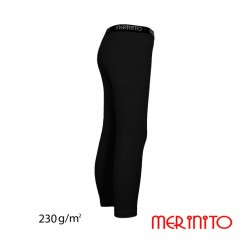Colant copii 230g/mp lana merinos - Pure Black