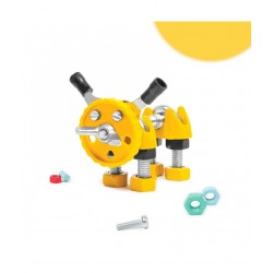 PuppyBit - Animal Kit The OFFBITS - Set De Construit Cu Șuruburi Și Piulițe