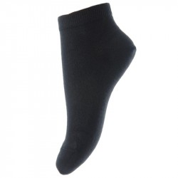 Sosete subtiri mp Denmark bumbac Footies - Plain Black
